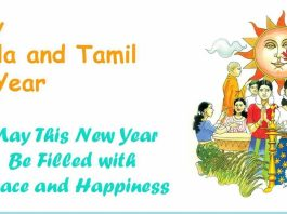 Tamil New Year of India